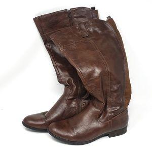 Unisa | Dark Brown Tall Riding Boots Womens 7